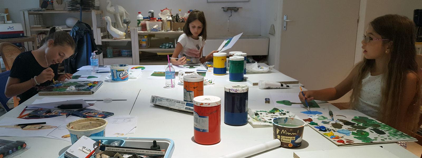 RB-arts - cours d'art plastique pour enfants