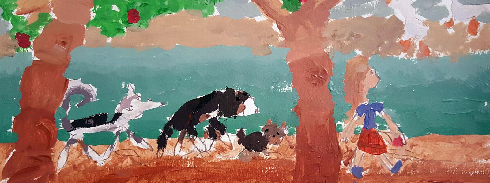 RB-arts - cours de peinture pour enfant
